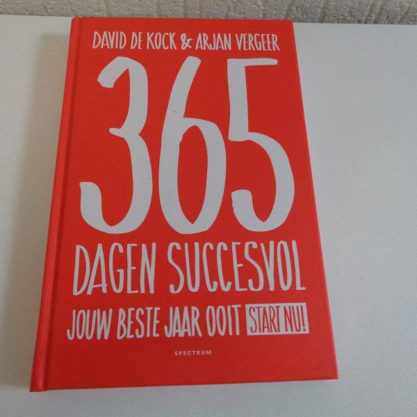 365 dagen succesvol – david de kock & arjan vergeer (boek) (iv46